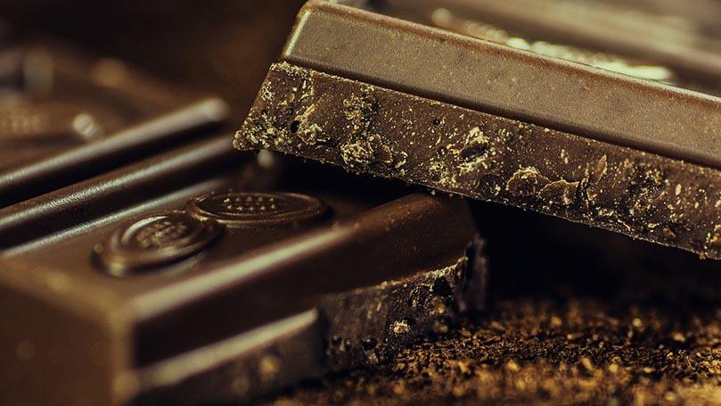 チョコレート、カカオ、ココア、カフェインなど