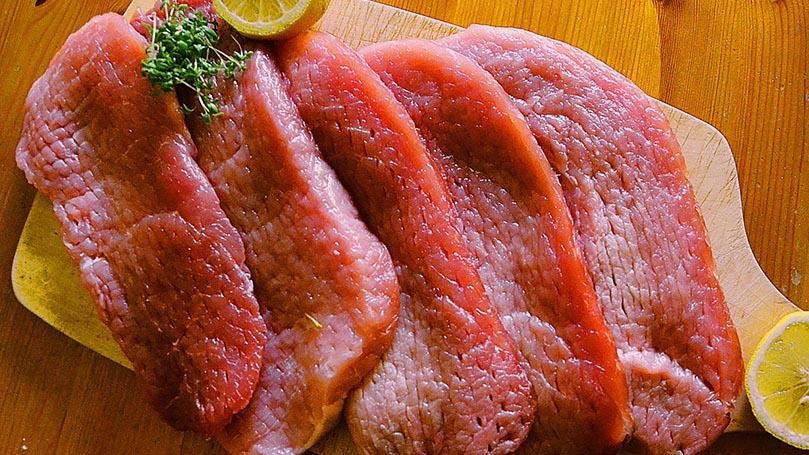 生肉(特に豚肉)